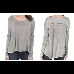 We the Free linen dolman top